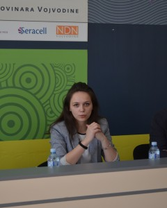 Koordinátorka projektu Emilija Brkićová