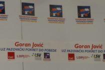 Stará Pazova: Goran Jović s Pazovským hnutím do víťazstva