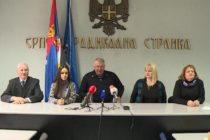 Srbská radikálna strana odovzdala volebnú listinu