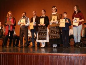 Odmenení diplom a malou zlatou plaketou Svetlost za rok 2015