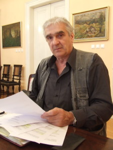 Dragan Predojević, predseda obecnej volebnej komisie v Báči