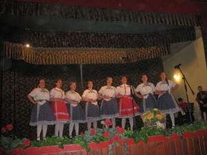 Zaspievala aj dievčenská spevácka skupina