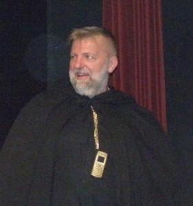 Najlepší herec festivalu Jaroslav Hriešik z Kovačice
