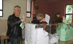 Voľby v Kysáči (Foto: E. Šranková)