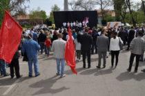 Míting SNS v Petrovci