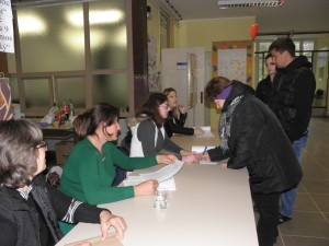 Voľby v Kulpíne (Foto: A. Francistyová)