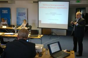Na konferencii vystúpil aj Viorel Fiurdui z moldavského združenia CALM