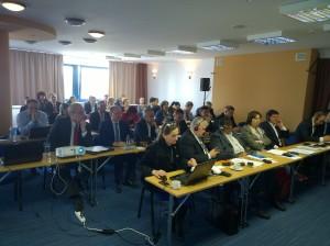 Účastníci ZMOS konferencie v Bratislave
