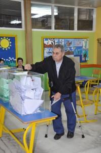 Voľby v Petrovci (Foto: J. Čiep)