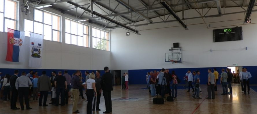 V Golubinciach otvorili novú športovú halu