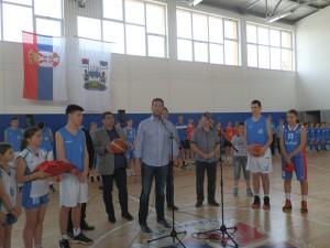 Počas príhovoru ministra Vanju Udovičića