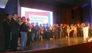 Kandidáti do všetkých troch volebných úrovní z listiny Aleksandar Vučić – Srbsko víťazí