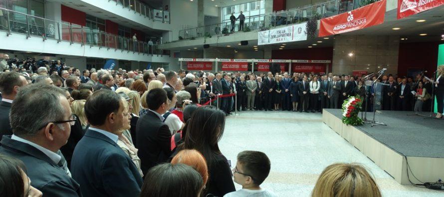 V Novom Sade otvorený 83. Medzinárodný poľnohospodársky veľtrh