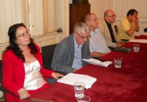 Tri literatúry za jedným stolom: slovenská, bulharská a macedónska