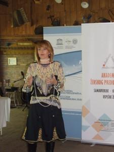 Jana Zabunov, riaditeľka Akadémie ženského podnikateľstva (Foto: V. Dorčová-Valtnerová)