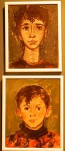 Milo Milunović: Dva portréty