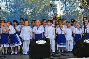 Deti z Predškolskej ustanovizne Včielka