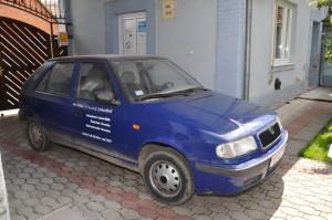 Matičné auto Škoda Felícia je už v nepojazdnom stave