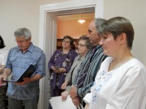 Z otvorenia novej knižnice (Foto: J. Bartoš)
