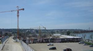 Jedna z najväčších zahraničných investícií u nás: projekt Belehrad na vode. Pohľad na stavenisko pri rieke Sáve