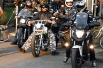 Stretnutie horlivých jazdcov na motorkách v Debeljači