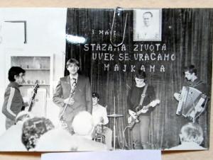 Obdivuhodné fotografie z minulosti hudobného života gymnázia zapôsobili na návštevníkov veľmi príjemne