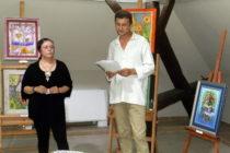 V Galérii insitného umenia: Maľovaná poézia Vesny Chrťanovej