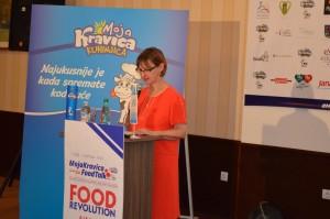 konferenciu otvorila veľvyslankyňa Francúzska Christine Moro