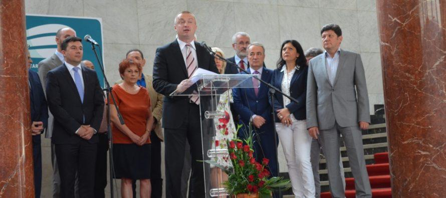 Záverečná konferencia Bojana Pajtića