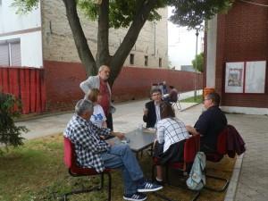 Odborná porota v rozhovore s režisérmi predstavení
