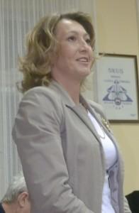 Libuška Lakatošová, nová predsedníčka spolku