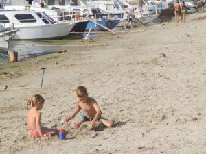 Detské hry na piesku