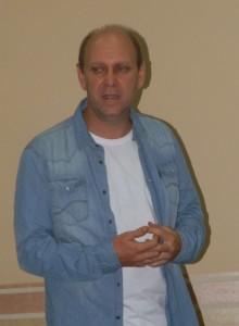 Alexander Bako, zástupca predsedníčky spolku