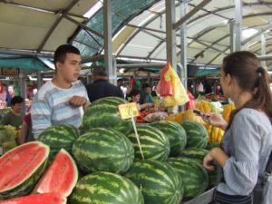 Zisťujeme v teréne ceny melónov