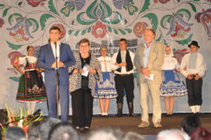 Z otvorenia galaprogramu folkloristov