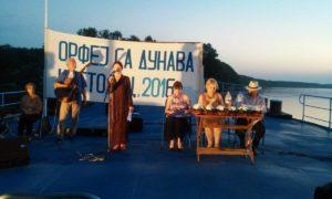Poetické stretnutie Orfeus na Dunaji, na ktorom sa Anna Dudášová predstavila svojím poetickým dielom a prečítala aj báseň Viery Benkovej, ktorú porota odmenila Zlatou plaketou
