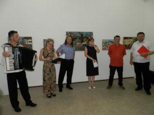 Slávnostné otvorenie (dvoj)výstavy v Galérii Zuzky Medveďovej