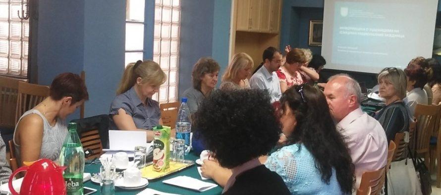 Pracovné zasadnutie o schválení učebníc v jazykoch národnostných spoločenstiev