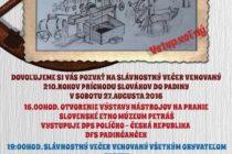 210 rokov príchodu Slovákov do Padiny