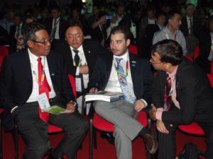 Dohovor členov jednej zo zahraničných delegácií