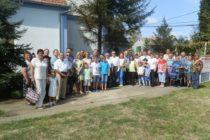 Stretnutie farárskych rodín v Slankamenských  Vinohradoch