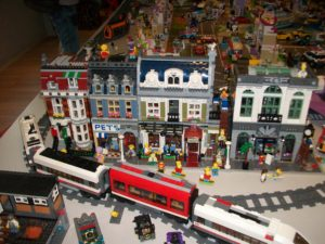 The Simpsons a vlak