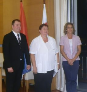 Aleksandar Mirković, Dagmar Repčeková a Libuška Lakatošová