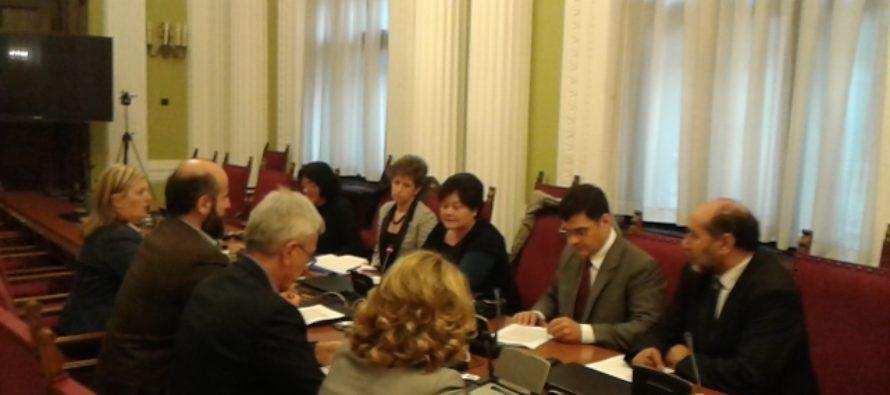 O postavení materinského jazyka s predstaviteľmi srbského parlamentu