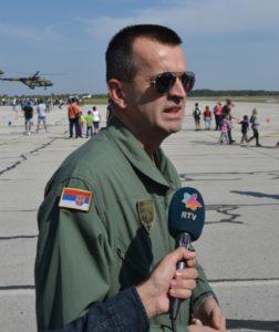 Zástupca veliteľa, plukovník Željko Bilić