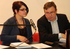 Senka Vlahović Filipov a Marián Potrok