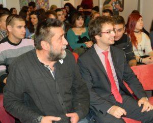 Radovan Vlahović z BKC a Michal Hrušík