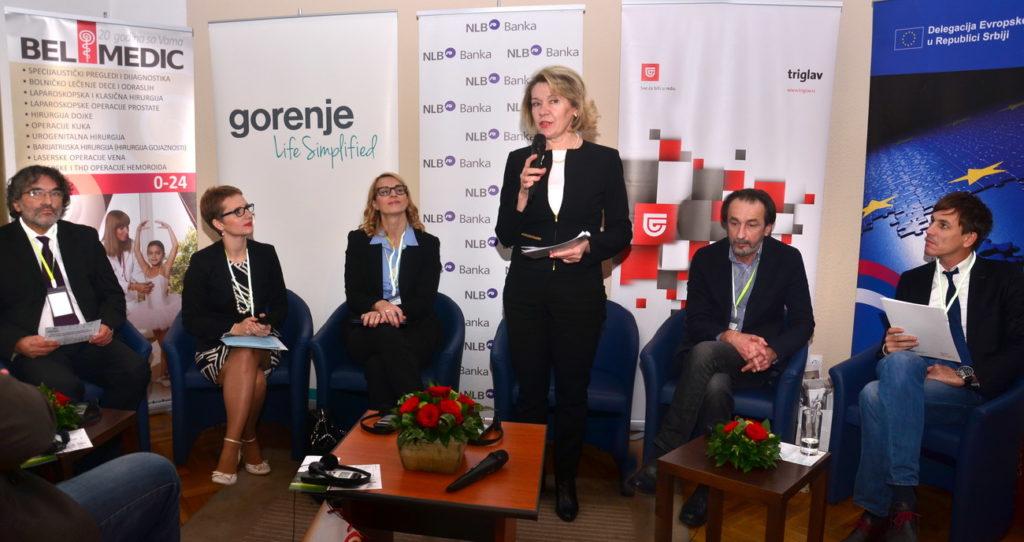 Z otvorenia minuloročnej konferencie venovanej menšinovým a regionálnym médiám, ktorá bola v Belehrade (Foto: Csilla Dávid)