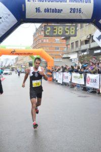 Víťaz Novosadského maratónu – Siniša Radivojević
