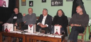 Predstavená bola i kniha o režisérovi Jánovi Makanovi